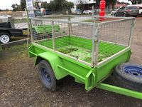 6x4 Cage Custom Trailers  Colac