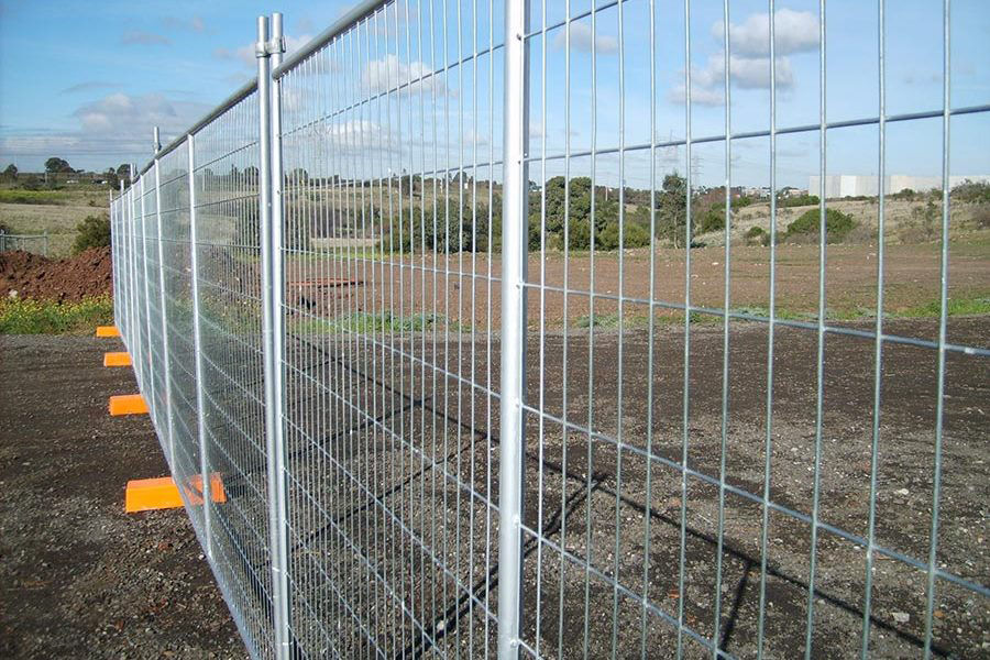 Building sight fencing 1800mm high