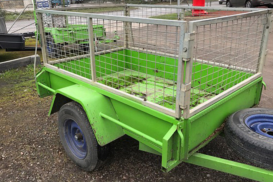 Cage Trailer 6x4