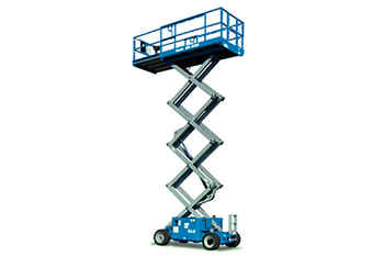 Scissor Lift - Rough Terrain (26` 5.9m)