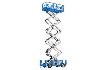 Scissor Lift - Rough Terrain (43` 13.1m)